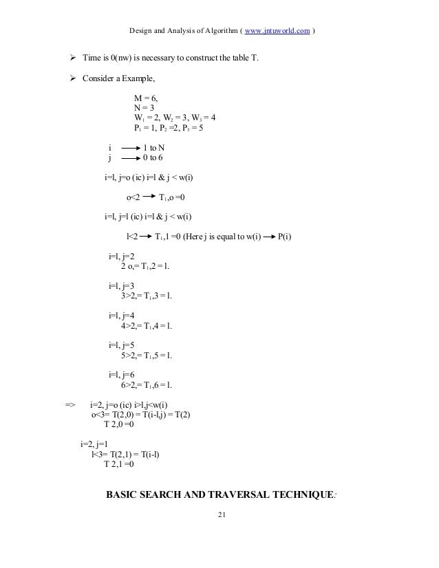 algorithm Unit 3