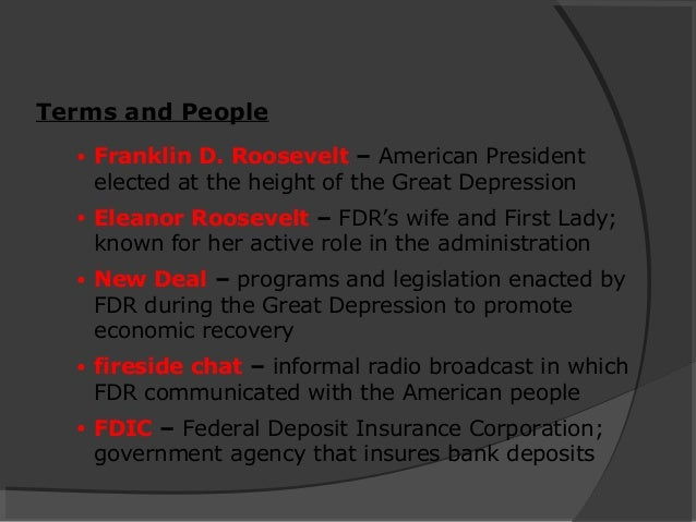 analyze the responses of franklin d roosevelt s administration to the problems of the great depressi Analyze the responses of franklin roosevelt's administration to the problems of the great depression topics: great depression  although roosevelt's administration was not very effective in curtailing the great depression, it left a lasting legacy in the role of the federal government by creating lasting programs, satisfying many of the.