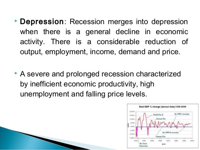 depression to recession contrast Economist compares depression, recession at abilene talk mark vaughan tells crowd at hardin-simmons there were similarities leading.