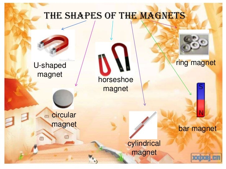 The shapes of the magnetsU-shaped                            ring magnet magnet               horseshoe                mag...