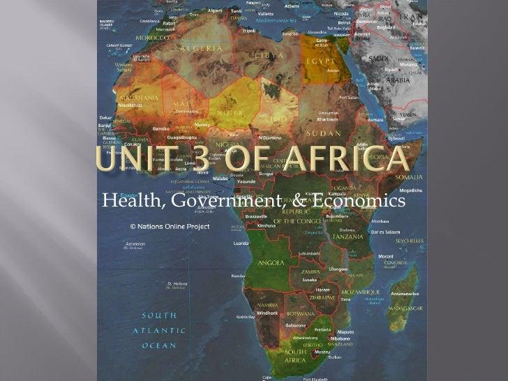 Health, Government, & Economics