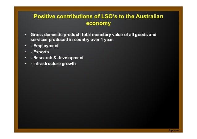 Australia s economic objective resource allocation