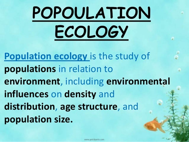 population ecology Go to lecture 7 (30-jan-13) [dynamics of populations population estimation ( web  go to lecture 22 (11-mar-13) [intro to predation mesopredator ecological .