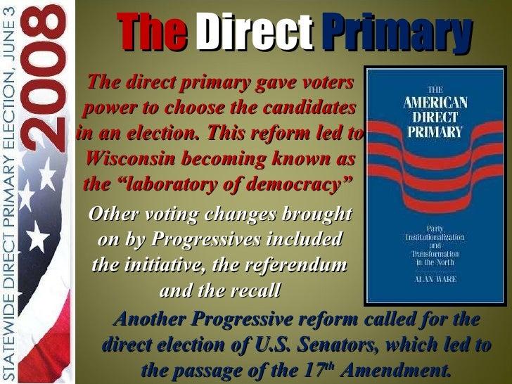 Recall Election Progressive Era Unit 3 Powerpoint the ...