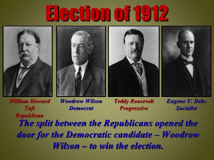 roosevelt and wilson