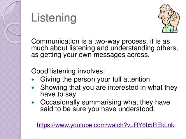 Elements of Effective Communication in the ... - Study.com