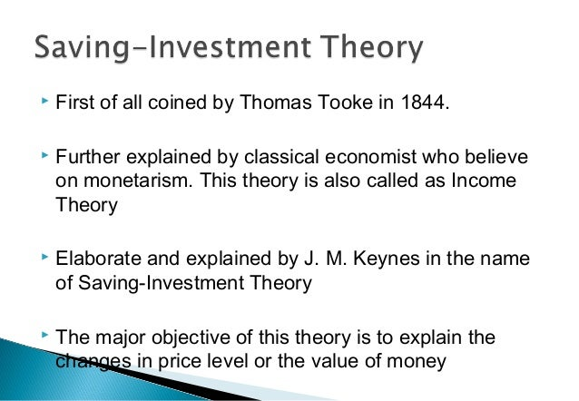  First of all coined by Thomas Tooke in 1844.  Further explained by classical economist who believe on monetarism. This ...