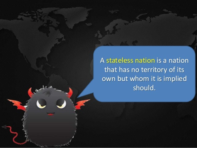 what does stateless nation mean