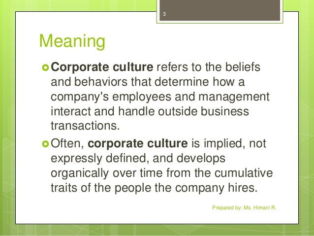 our culture define us This concept of culture is also comparable to the german concept of bildung: culture being a pursuit of our total perfection by means of getting to know, on all the matters which most concern us, the best which has been thought and said in the world.