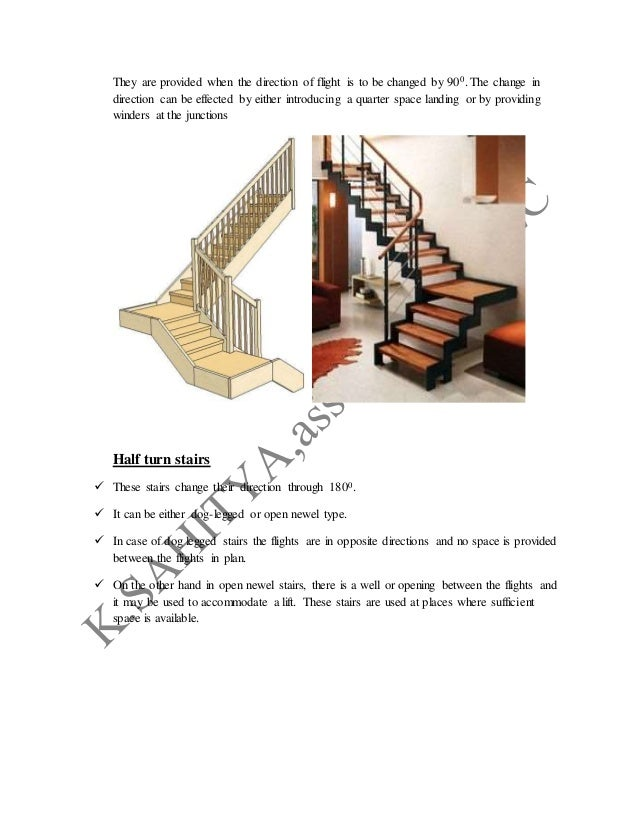 Circular stairs  These stairs, when viewed from above, appear to follow circle with a single centre of curvature and larg...
