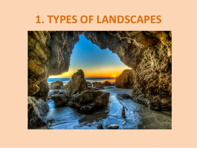 TYPES OF LANDSCAPES ... - Unit 4 - Landscapes