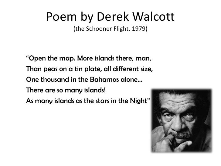 a biography of the caribbean poet derek alton walcott Hilton als on the nobel prize-winning poet derek walcott, who died  world, a  distinctly caribbean world with its history of colonialism and its.