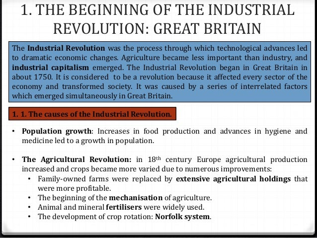 Unit 4 The Industrial Revolution