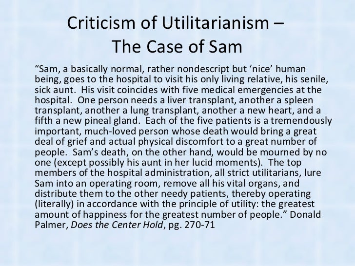 Act and rule utilitarianism essay