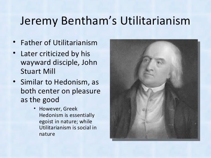 understanding js mills utilitarianism
