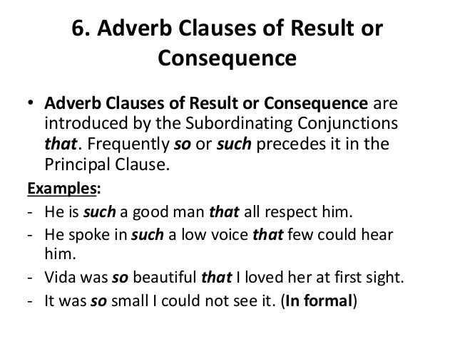 Unit 4 Adverb Clauses