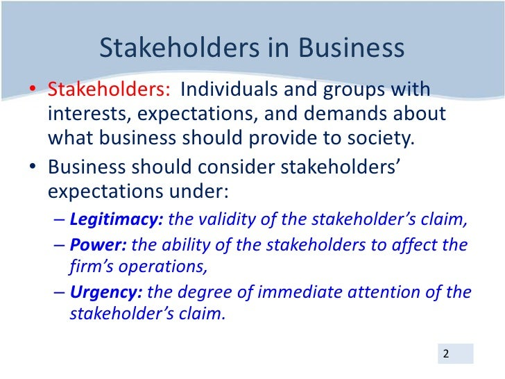 What Are Primary, Secondary & Tertiary Stakeholders?