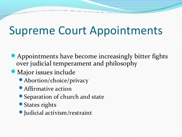 a comparison of philosophies between judicial activism and restraint The original definition of judicial activism is defined as a philosophy of judicial decision-show more content stare decisis plays a large role in judicial restraint stare decisis is sticking to an established ruling that was handed down by past judges or jurors.