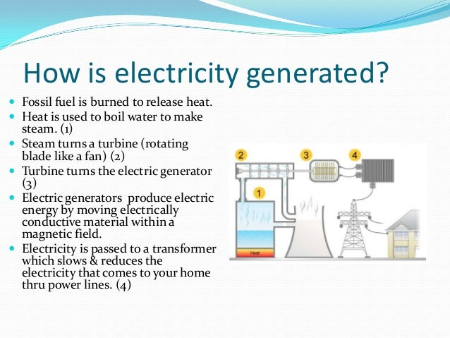 Natural Gas Generate Electricity Home