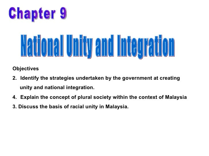ways to promote national unity in malaysia from so How to promote national unity among the some of the ways and means to promote national to take place so that people in malaysia work together and.