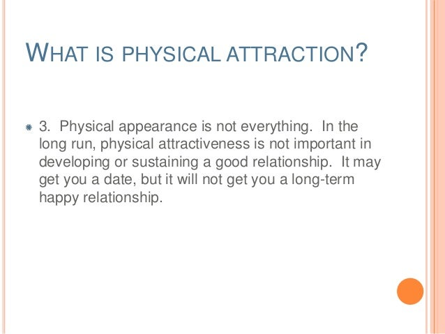 How important is physical attraction in a marriage
