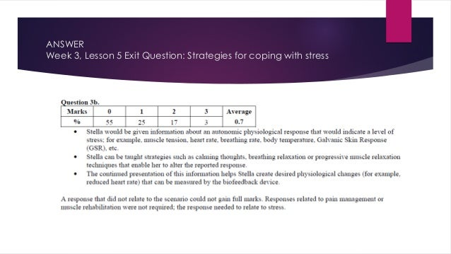 Unit 4 Mental Health exam questions powerpoint
