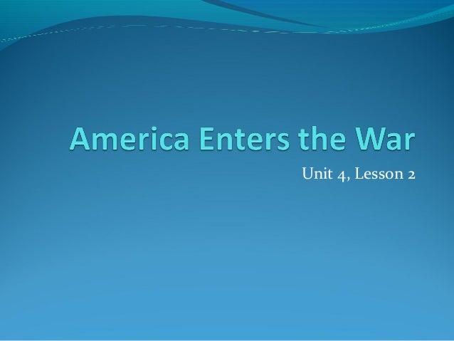 Unit 4, Lesson 2