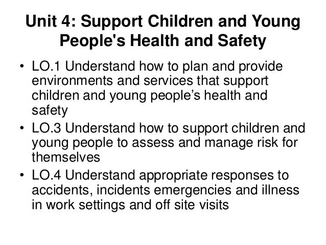 support the health and safety of Safety and health of the workforce is important and not always recognized i also liked your discussion of the need and challenges regarding rigorous evaluation of.