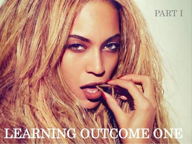 PART ILEARNING OUTCOME ONE