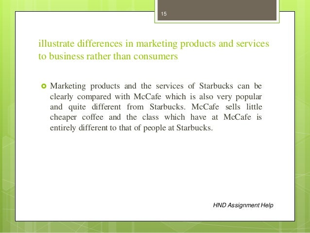 illustrate diferences in marketing products and services to business rather than consumers Illustrate diferences in marketing products and services to business rather than consumers marketing a product and business ethics | | | | | miss nana ama appiah | 5/24/2012 | | abstract in recent years, an increasing number of marketers, entrepreneurs and business managers have to deal with ethics and social responsibility issues about how to market their product and services all over the world.
