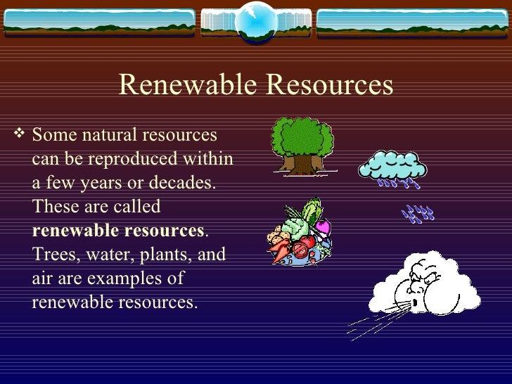 Unit 4 Natural Resources