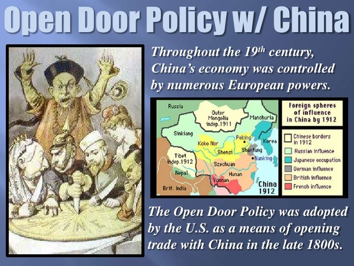 China S Open Door Policy