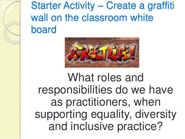 unit 4 equality and diversity The equality & diversity inclusion policy outlines the responsibility for  to raise  the profile of the policy within their schools/units and ensure that all staff and.