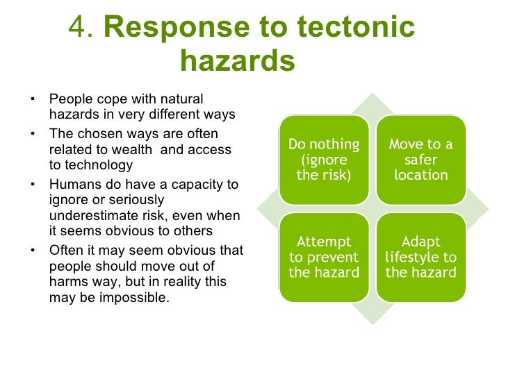 tectonic hazard profiles determine the way Unit 4 pre release in frequency and impact over time tectonic hazards 12 event profile of hazards lievent profiles are a common way of comparing different hazards in this example the 2004 asian tsunami and ongoing eruption.