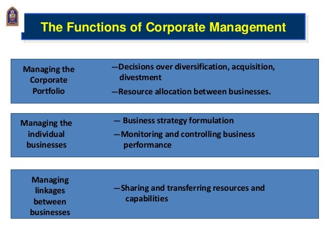 value creation through corporate restructuring Strategic restructuring through strategic  he has been advising clients in complex transformations and operational value creation projects for  corporate.