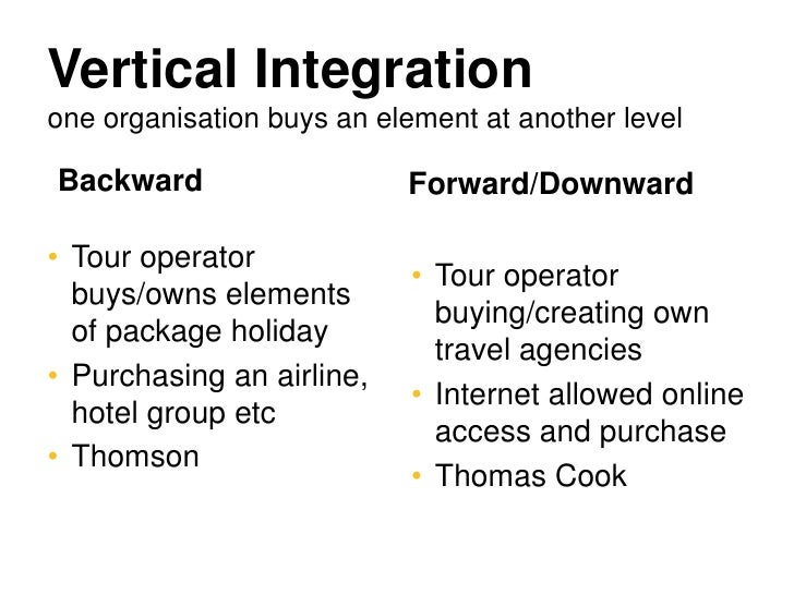 Firms: Horizontal, Vertical and Conglomerate Integration