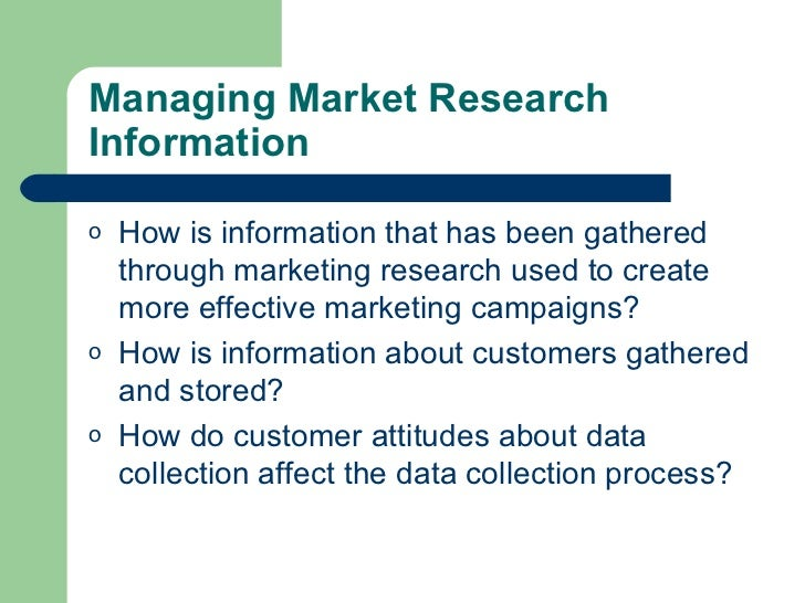 marketing information management The marketing information system focuses on only the marketing aspects of the management information system it is an organized way of continually collecting.
