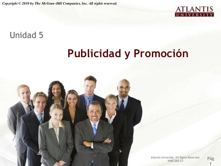 Copyright © 2010 by The McGraw-Hill Companies, Inc. All rights reserved.    Unidad 5                                      ...