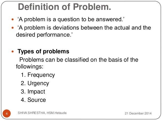 problem solving defined