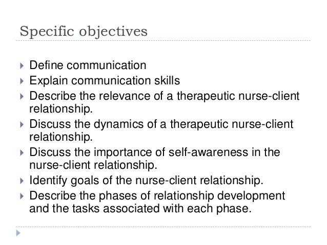 therapeutic communication strategies