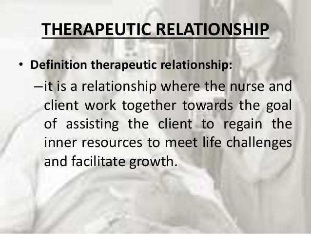 therapeutic relationship in nursing nz