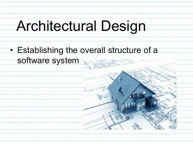 Architectural Design ...