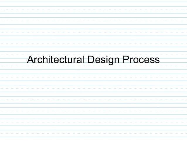 ... 31. Architectural Design ...