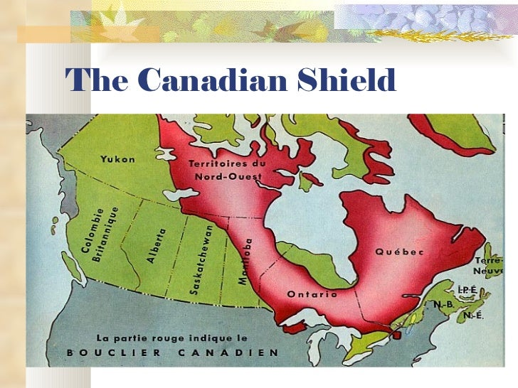 12 the canadian shield