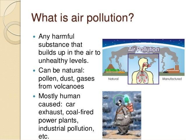 cars causing air pollution