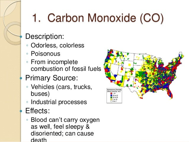 How does carbon monoxide affect the body?