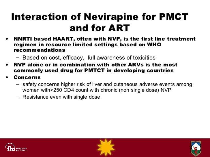 Nevirapine Newborn Dosage