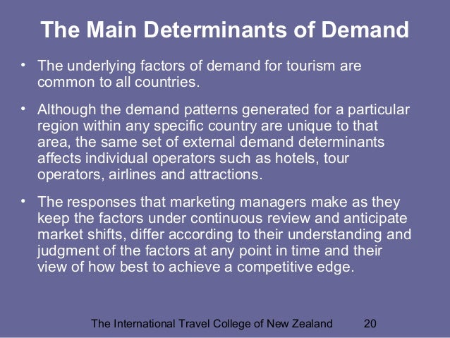 understand the concepts and principles of marketing in the travel and tourism sector Hospitality marketing mix and service marketing distribution and are common in the travel sector marketing mix and service marketing principles.