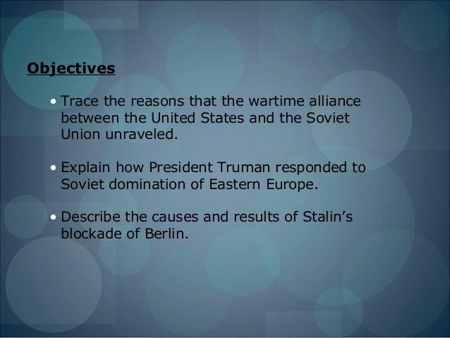 Unit 5 lesson 1  the cold war begins Slide 2