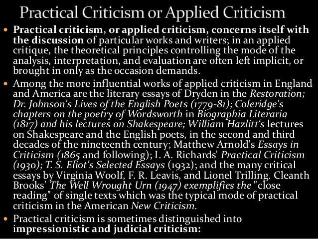 dr johnsons criticism of shakespeare essay Samuel johnson (1709-1784)  the dean of english literary criticism  attack on shakespeare's puns ('quibbles') this essay also presents his famous.